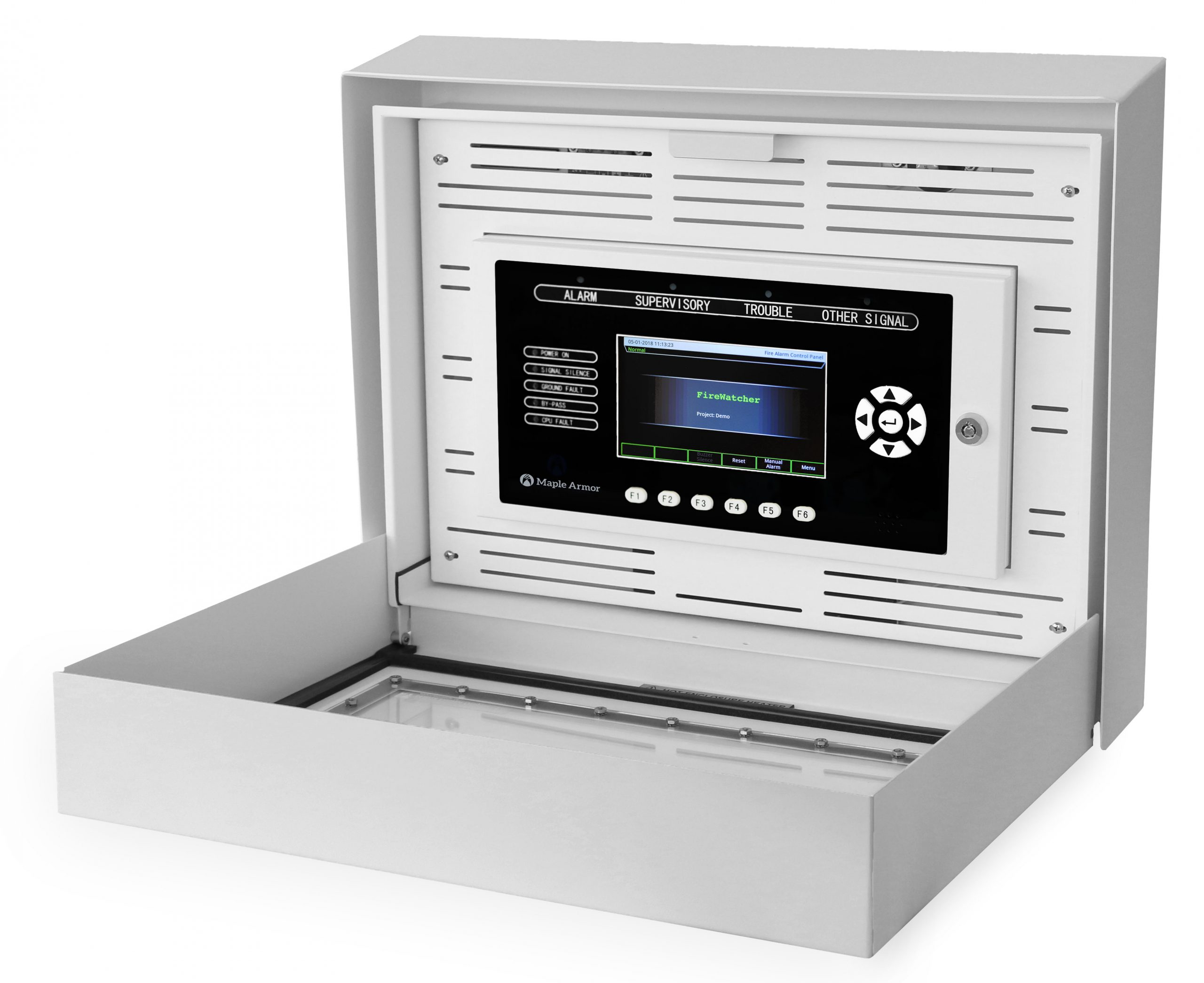 Weatherproof Annunciator Enclosure for outdoor applications